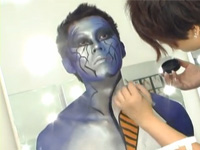 Amy Gao Body Painting_201109
